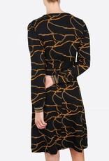 Summum Dress chain print, 5s1105-30078