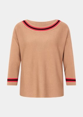 Comma Pullover boothals