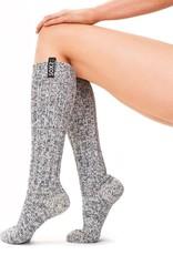 SOXS SOXS  Woman knee-high grey/ jet black
