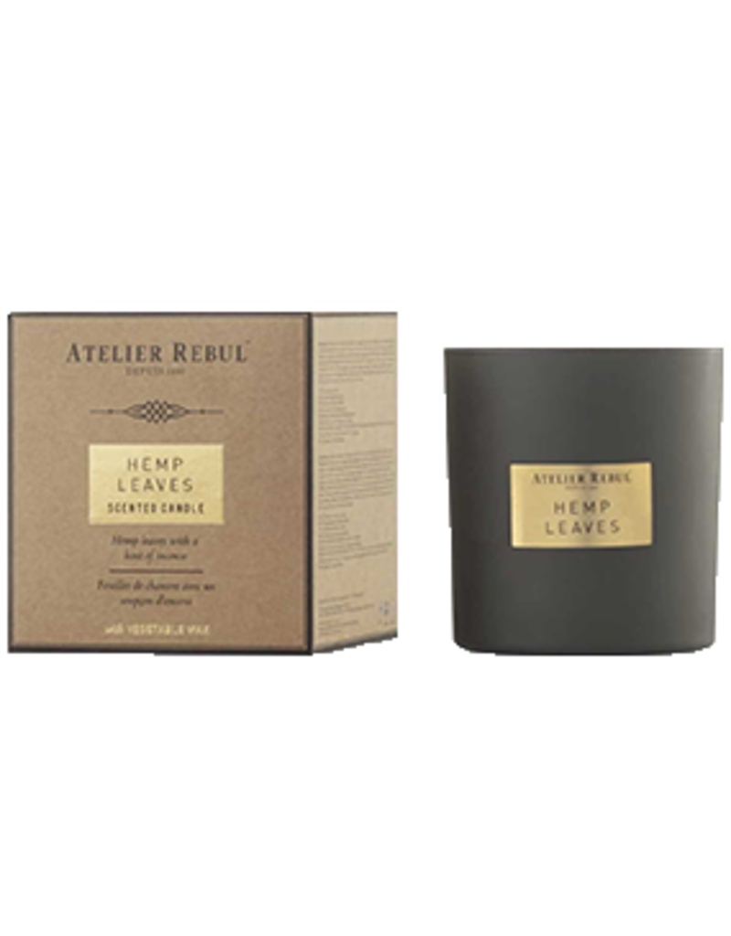 Atelier Rebul Scented candle hemp leaves 210gr