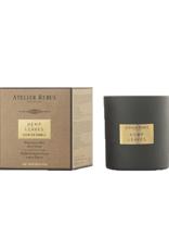 Atelier Rebul Scented candle vanilla noir new formula 210gr