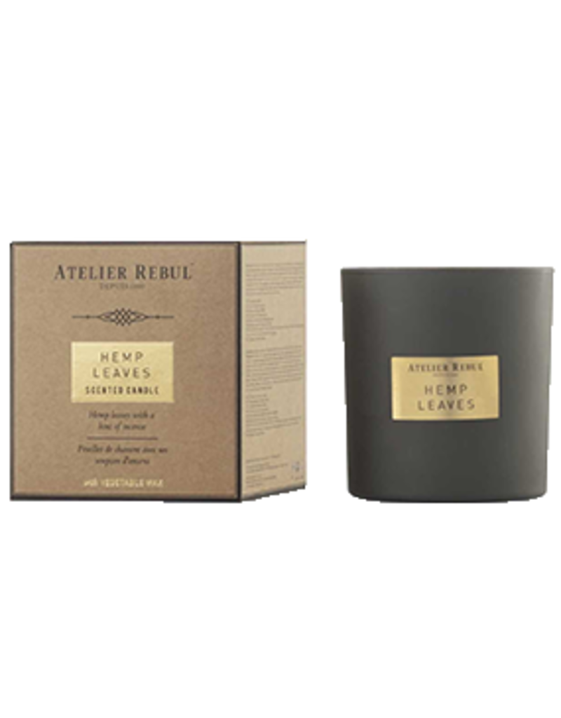 Atelier Rebul Scented candle vanilla noir new formula 210gr
