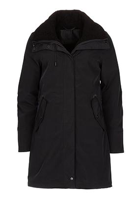 Giacomo Parka zwart waterproof jas, 6626834