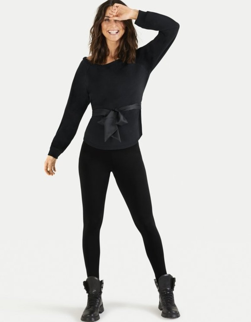 Juvia Fleece Sweater Belted 820.13.063