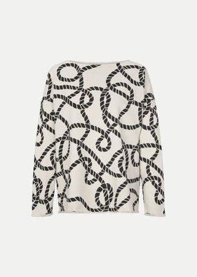 Juvia Fleece Sweater Ropes 820.13.031