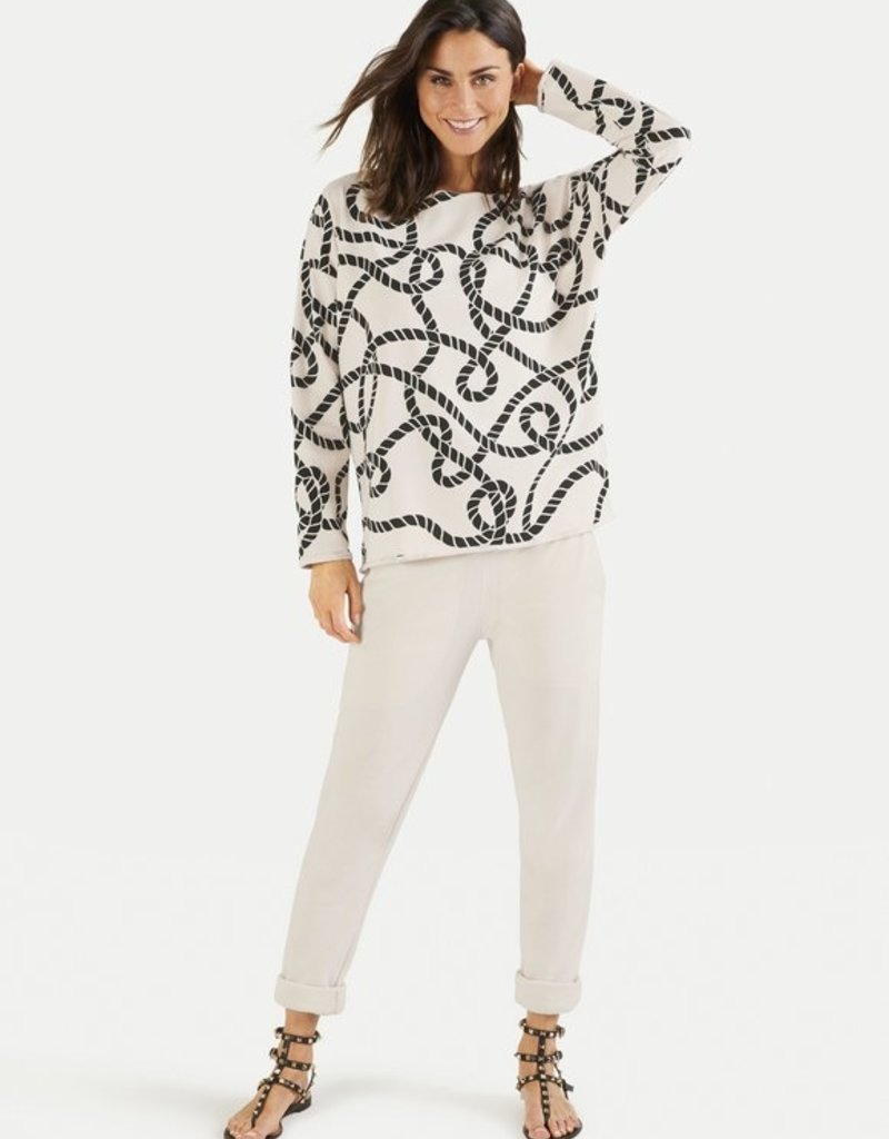 Juvia Fleece Sweater Ropes 820.13.031