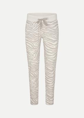 Juvia Devoré Light Zebra Trousers 830.13.103