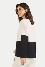 Juvia Fleece Sweater Colorblock 820.13.067