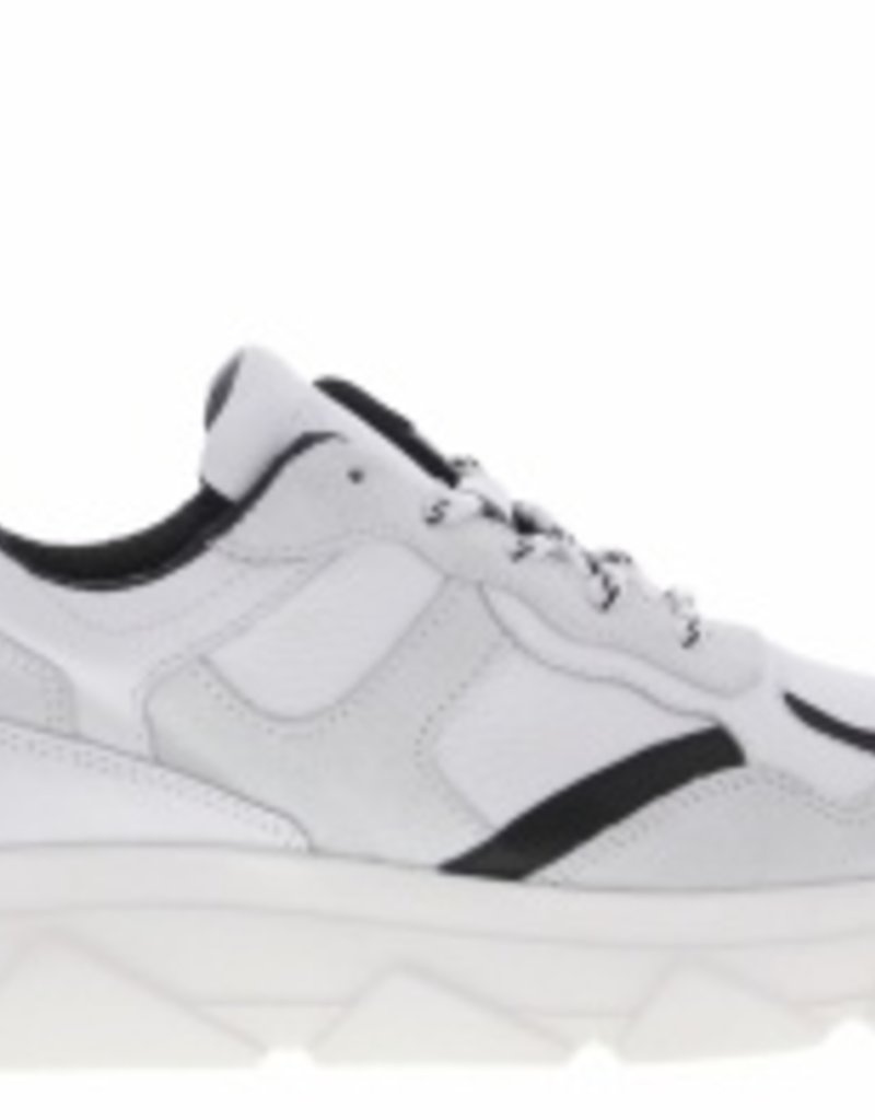 Tango Kady fat 10-f paulien tilstra white/black leather sneaker