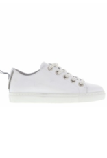 Tango Moniek 18-a white leather sneaker double laces