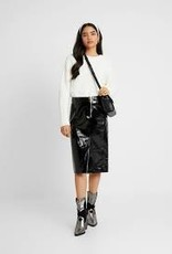 Y.A.S YASCama HW Leather Skirt, 26015410
