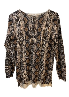 Rush sweater snakeprint