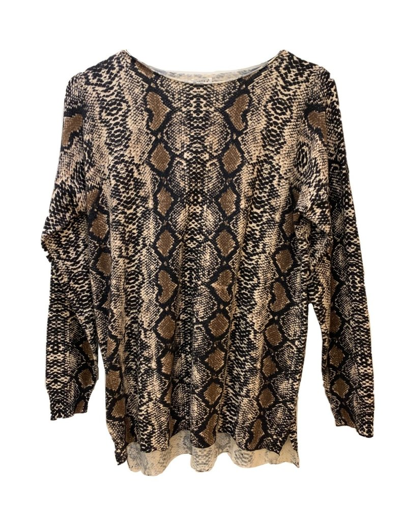 Rush sweater snakeprint