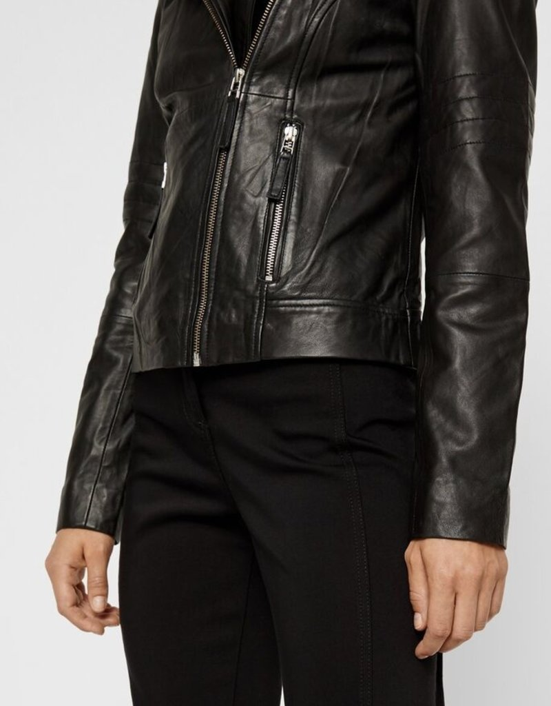 Y.A.S YASFimi Leather Jacket, 26018162