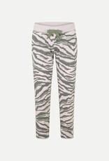 Juvia Devoré trousers jungle zebra blushed pink 830 13 148
