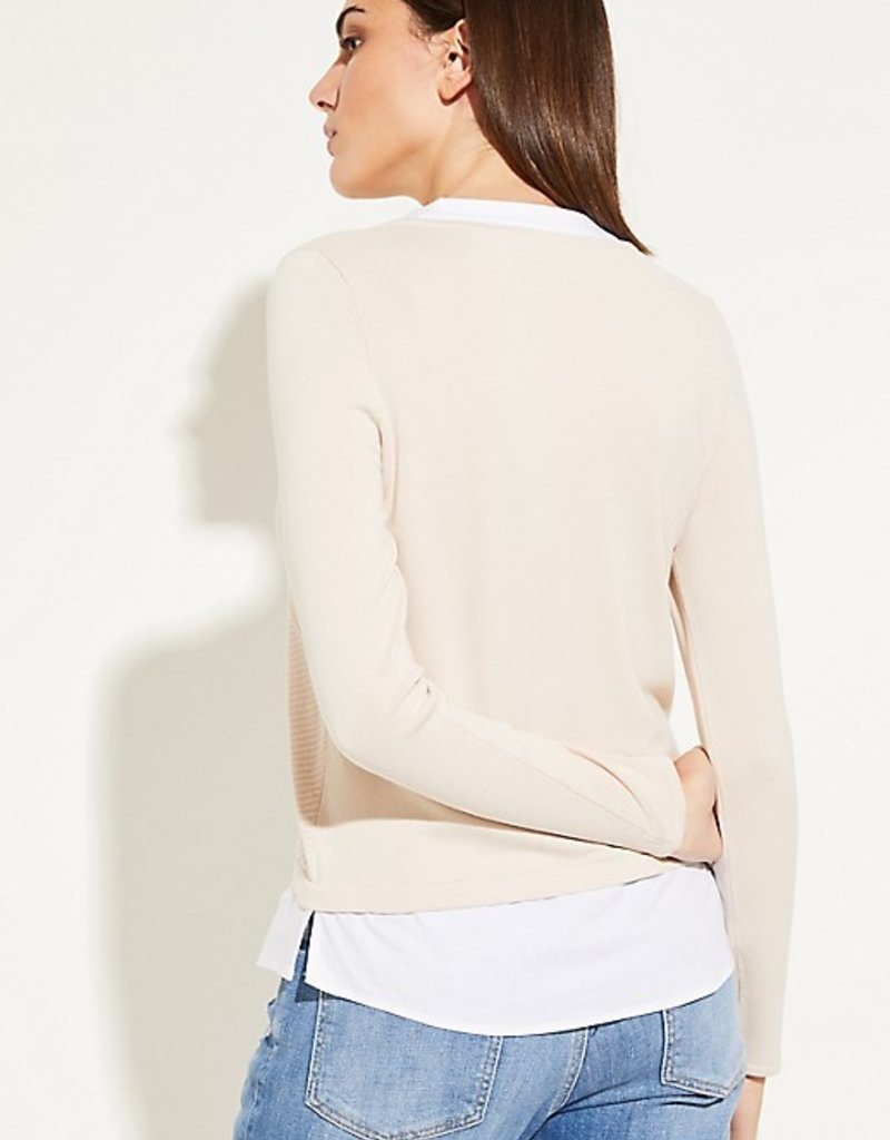 Comma Trui met blouse detail 81.912.61.1001