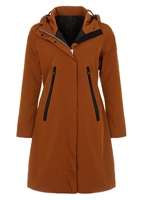 Giacomo Coat 6626957 raincoat 702 B. Caramel