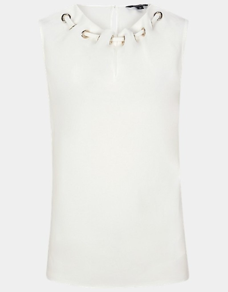 Comma Blouse ring hals 81.003.33.3602