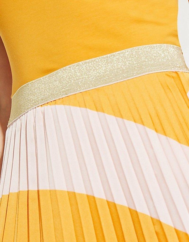 Comma Skirt plissé 81.003.78.2523