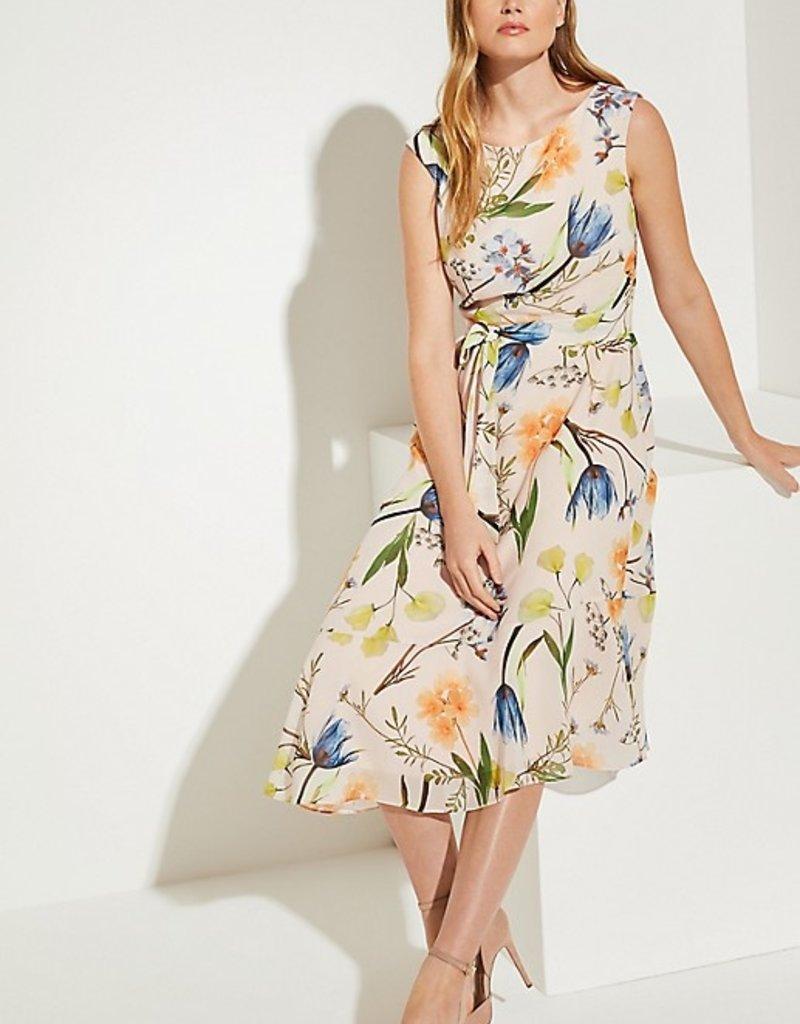 Comma Dress floral print 8T.003.82.8075