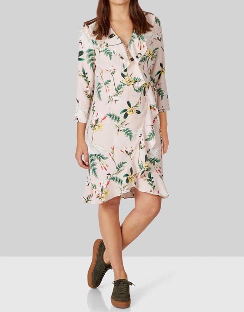 Y.A.S YASCrane Wrap Dress 26011295