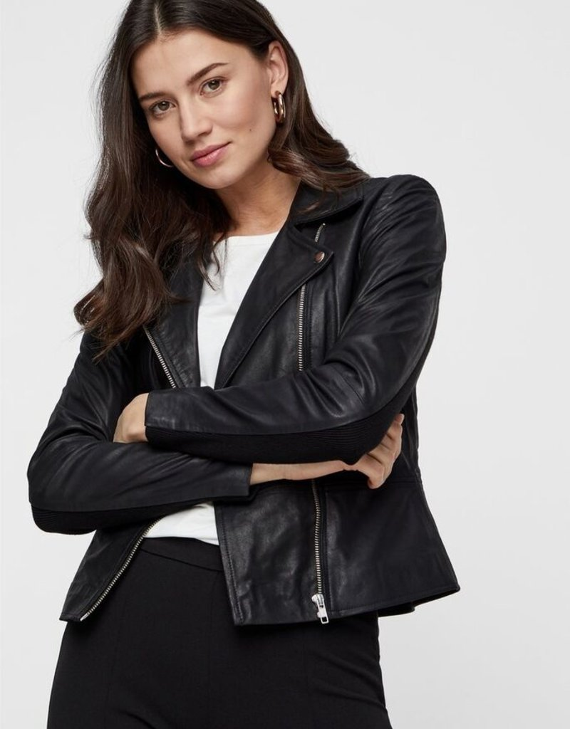 Y.A.S YASSophie Leather Jacket, 26018510