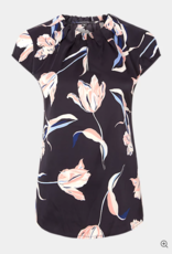 Comma Top met bloemenprint, 85.899.12.0768