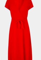 Comma Rode chiffon jurk 8T.004.82.5467