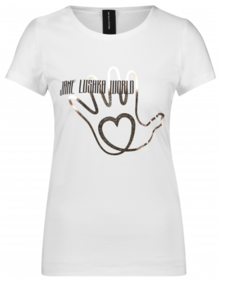 Jane Lushka Jane Lushka  t-shirt P620AW03