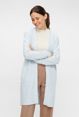 Pieces PCSkyla LS long wool knit cardigan