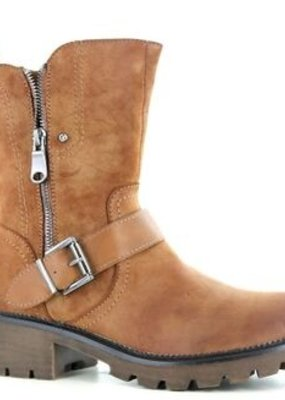 Super Cracks SC Bootie, low heel, Casual, 222508