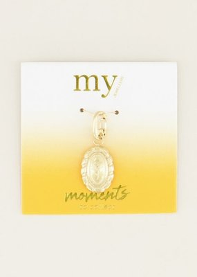 My Jewellery Moments charm vintage rose Goud ONESIZE