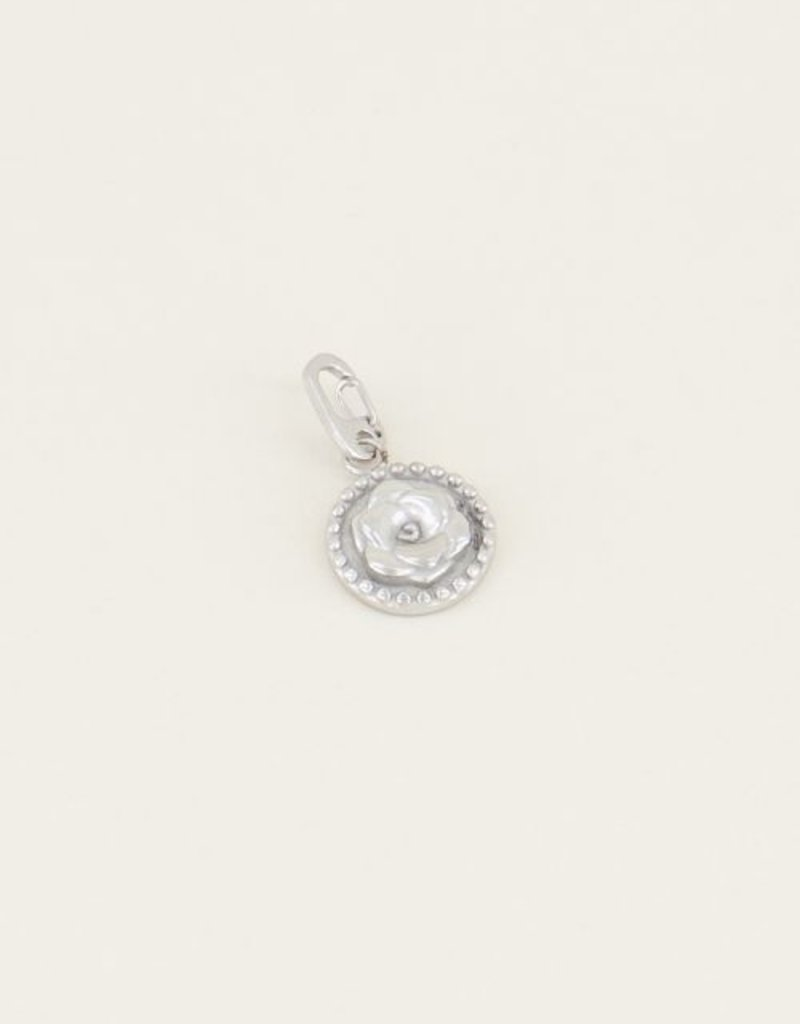 My Jewellery Moments charm rose Zilver ONESIZE