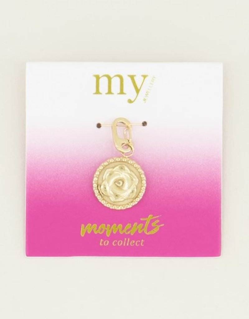 My Jewellery Moments charm rose Goud ONESIZE