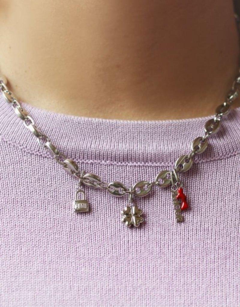 My Jewellery Moments charm love lock Zilver ONESIZE