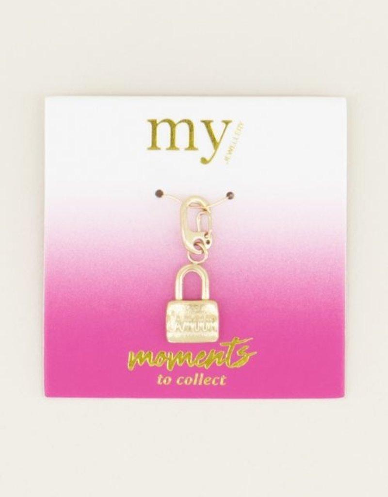 My Jewellery Moments charm love lock Goud ONESIZE