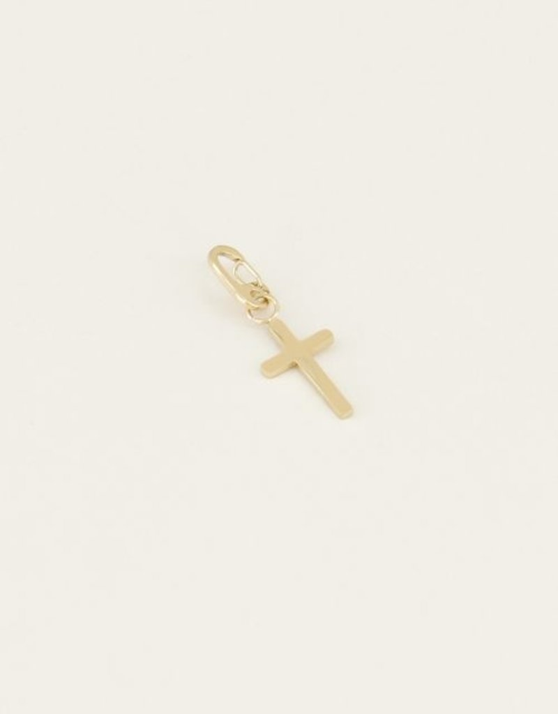 My Jewellery Moments charm cross Goud ONESIZE