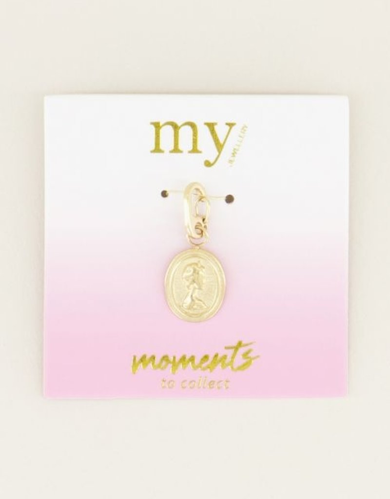 My Jewellery Moments charm camee Goud ONESIZE