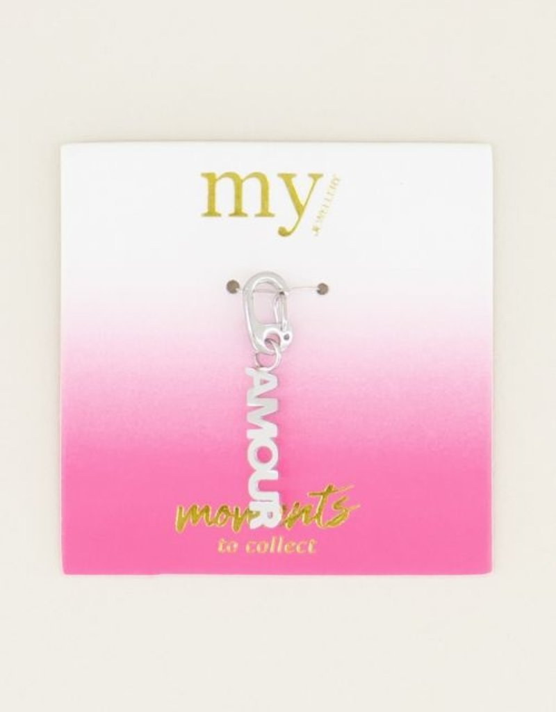 My Jewellery Moments charm amour Zilver ONESIZE