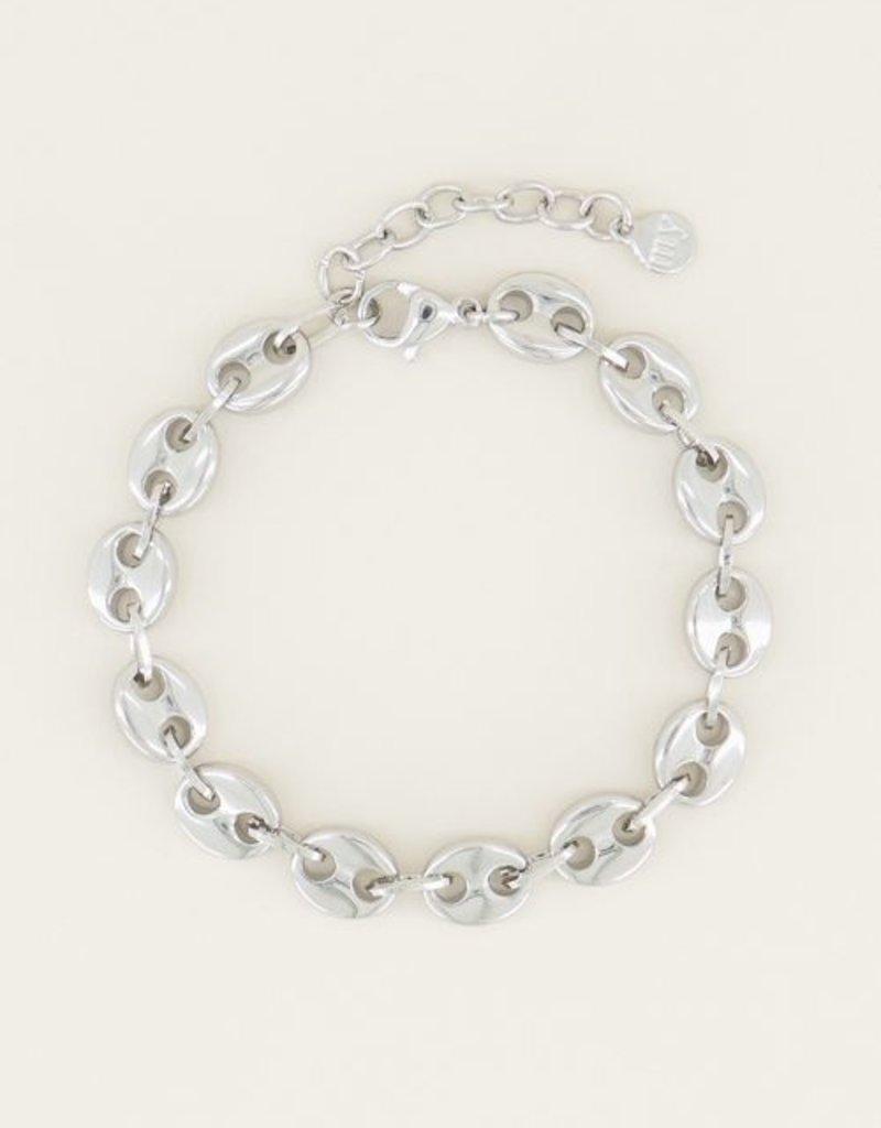 My Jewellery Moments bracelet bold Zilver ONESIZE