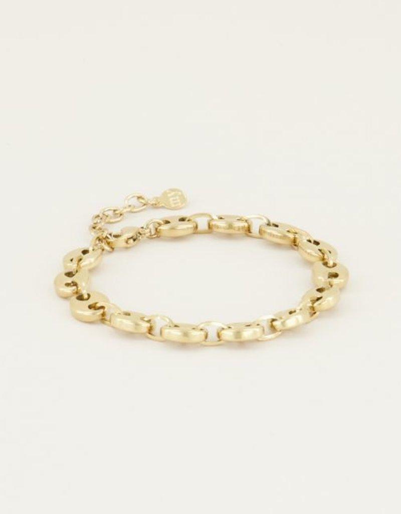 My Jewellery Moments bracelet bold Goud ONESIZE