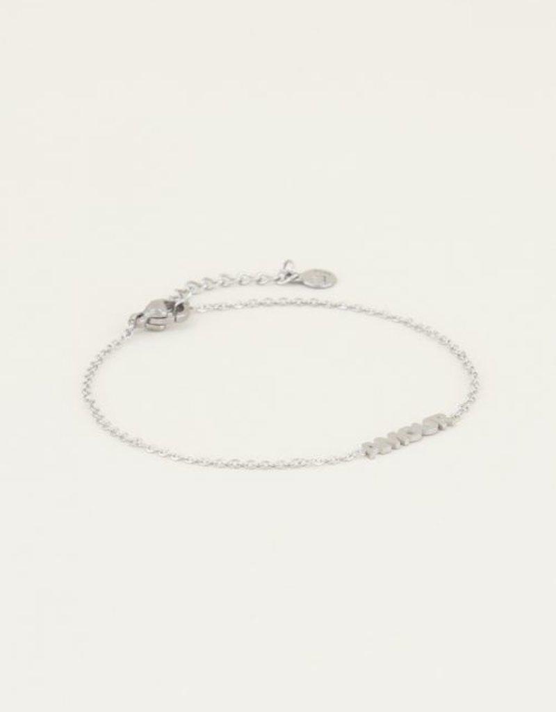 My Jewellery Moments bracelet amour Zilver ONESIZE