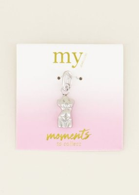 My Jewellery Moments bedel zwangere torso Zilver ONESIZE