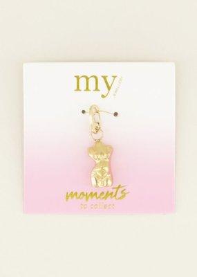My Jewellery Moments bedel zwangere torso Goud ONESIZE