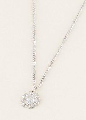 My Jewellery Ketting daisy Zilver ONESIZE