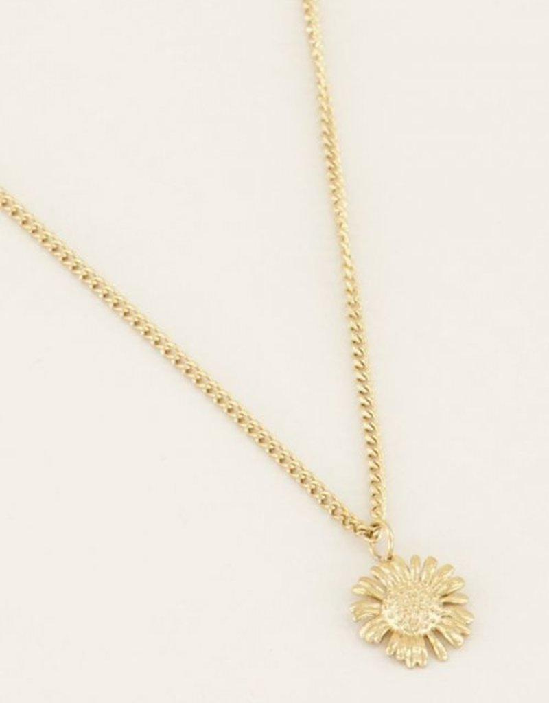 My Jewellery Ketting daisy Goud ONESIZE
