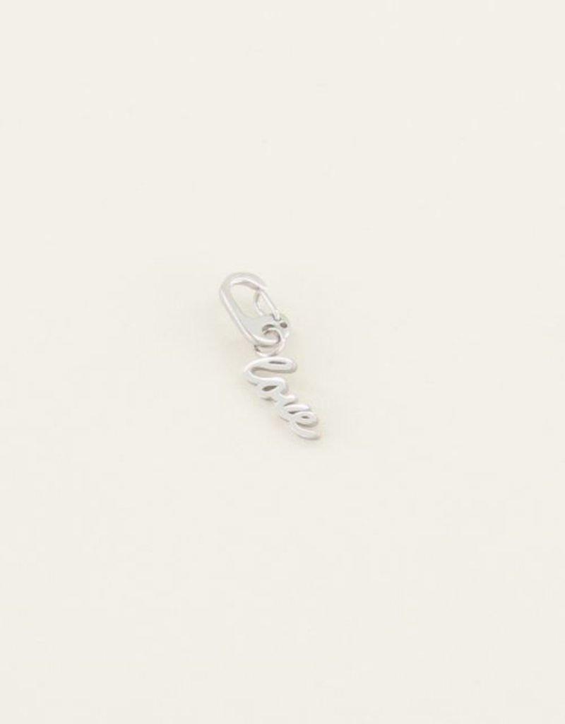 My Jewellery Bedel love Zilver ONESIZE