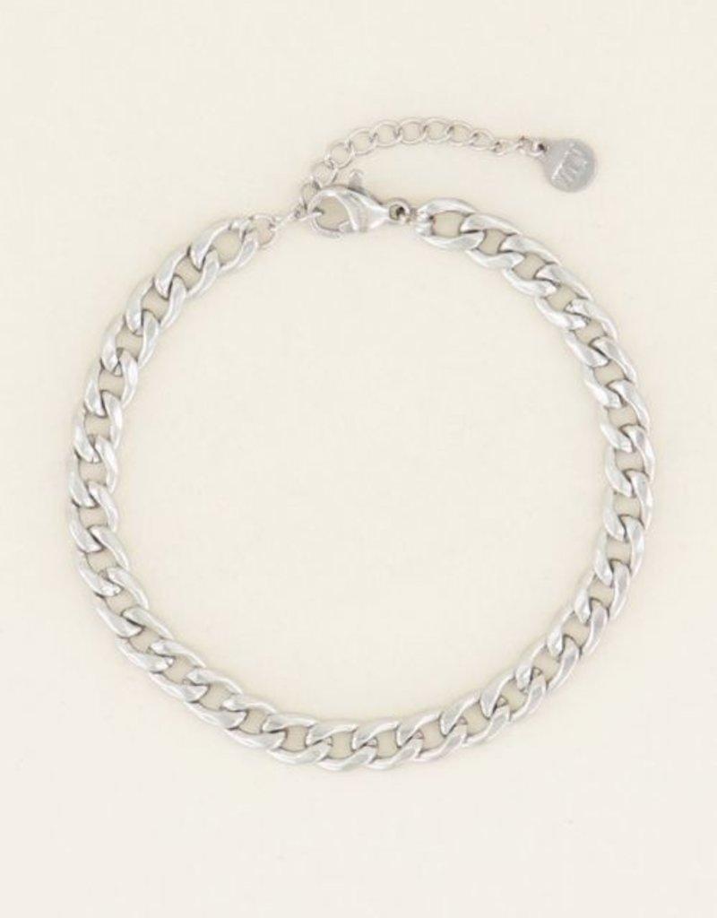 My Jewellery Armbandje schakels Zilver ONESIZE