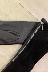 Pieces PCKip long leather/suede glove