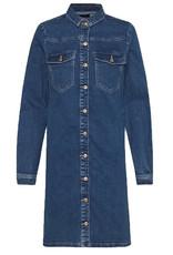 Pieces PCperry denim dress/blouse